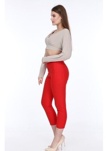 Islander Pantolon Kırmızı